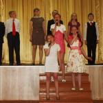 Песня в исполнении  5-й класс