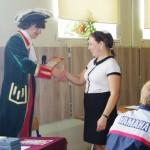 Награждение участников историко-интеллектуальной игры  «Славою предков мы можем гордиться!»