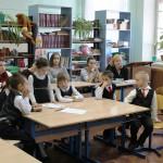 Занятие в начальной школе проводит Палетина Л.Е.