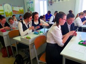 Посещение практического занятия «Идентификация органических соединений» 10 класс, Громова Л.В.