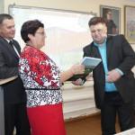Памятный подарок от коллег из Воронежской области в музей