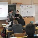 Посещение открытого урока биологии 5 класс, учитель Чистякова И.Ю.