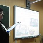 Выступление директора школы Ежиковой М.С.