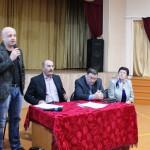 Выступление Романюка А.Ю. о ремонте отопительной системы школы