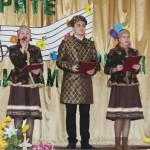 Ведущие праздника - учащиеся Великосельской средней школы