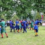 Реконструкция фрагмента Полтавской битвы