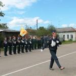 Смотр-парад  кадетских отрядов