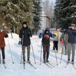 Лыжня эстафета