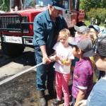 Занятие с сотрудниками пожарной части г. Гаврилов -Ям