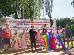 """Участники конкурса """"Я в гости к Пушкину спешу"""""""
