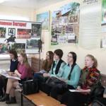 Студенты ЯГПУ им. К.Д. Ушинского на открытом уроке по истории