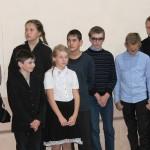 Учащиеся Полянской школы