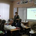 Урок в 6 а  классе по английскому языку «Мой любимый день недели» Савина С. В.