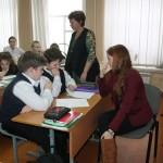 Совместная работа на уроке учащихся и студентов