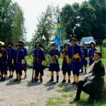 Фрагмент Полтавского боя