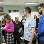 Совместный творческий процесс учащихся и студентов