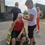 Практическая тренировка по отработке действий при оказании первой помощи при ожогах
