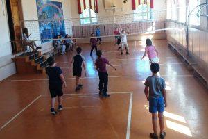 Спортивный день в лагере
