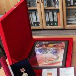 Ильичева Е. В., учитель русского языка и литературы– диплом «Лидер Российского образования», удостоверение и медаль «Лидер Российского образования»